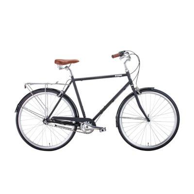 28 Bear Bike London Черный Матовый 3 ск 19-20 г