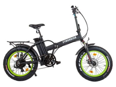 Электро фэтбайк cyberbike fat 500w