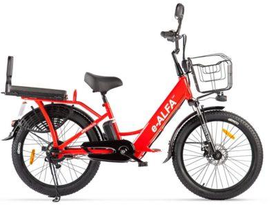 Электро фэтбайк green city e-alfa fat 2020