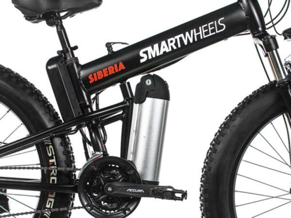 Электрофэтбайк smartwheels siberia 2000w