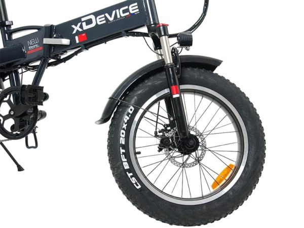 Электрофэтбайк xdevice xbicycle 20 fat 2020