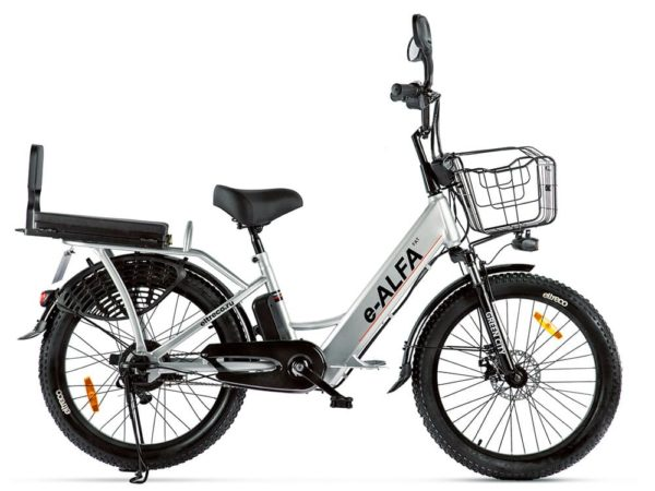Электровелосипед - Электро фэтбайк GREEN CITY e-ALFA Fat 2020