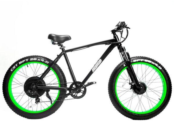 Электровелосипед - Электро фэтбайк Медведь 500x1500