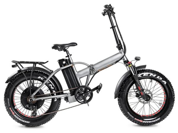 Электровелосипед - Электро фэтбайк складной Медведь 1000