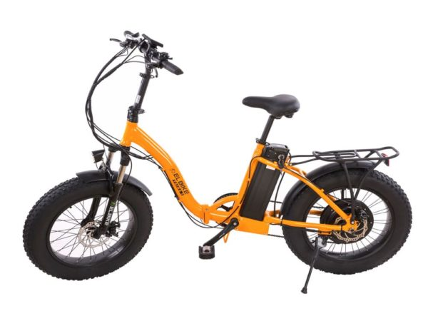 Электровелосипед - Электрофэтбайк Elbike Taiga 1 с багажником