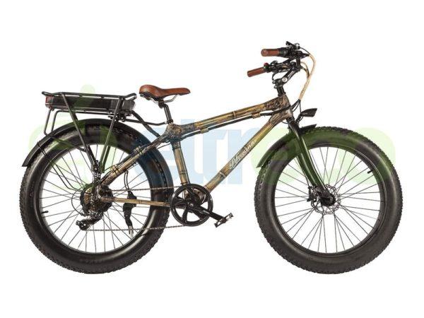 Электровелосипед - Электрофэтбайк Eltreco Nirvana Bamboo