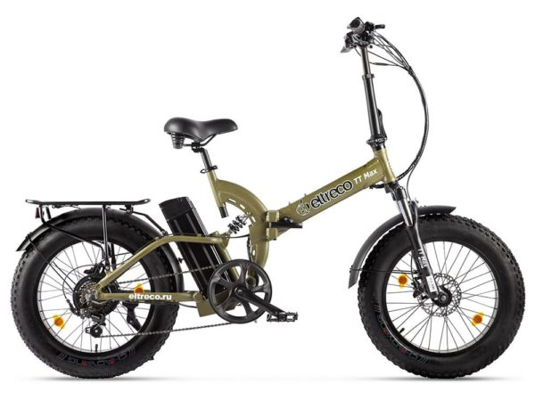 Электровелосипед - Электрофэтбайк Eltreco TT Max