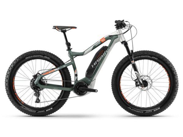 Электровелосипед - Электрофэтбайк Haibike (2018) XDURO FatSix 8.0 500Wh 11s NX