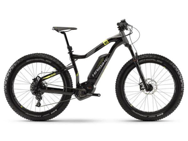 Электровелосипед - Электрофэтбайк Haibike (2019) XDURO FatSix 9.0 500Wh 11s NX