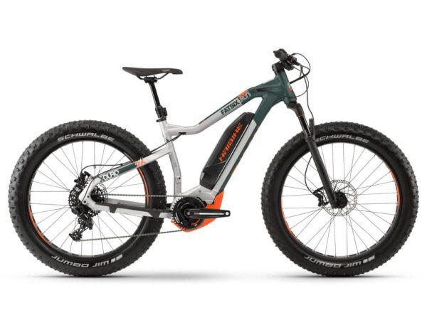 Электровелосипед - Электрофэтбайк Haibike (2019) Xduro FatSix 8.0