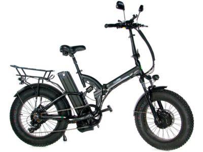 Электровелосипед - Электрофэтбайк OxyVolt Fat 20 All Mountain Double 2 (Полный привод)