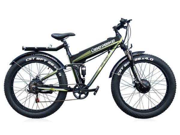 Электровелосипед - Электрофэтбайк Uberbike Fat 48V 1000W