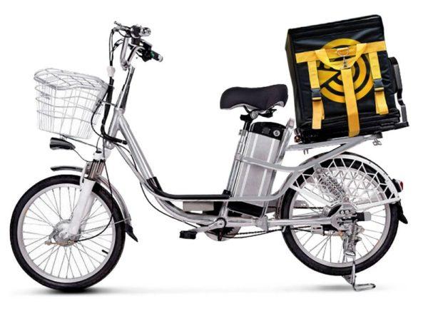 Электровелосипед - Электровелосипед Delivery Line V12 (12Ah 48V 350W, 20 дюймов)
