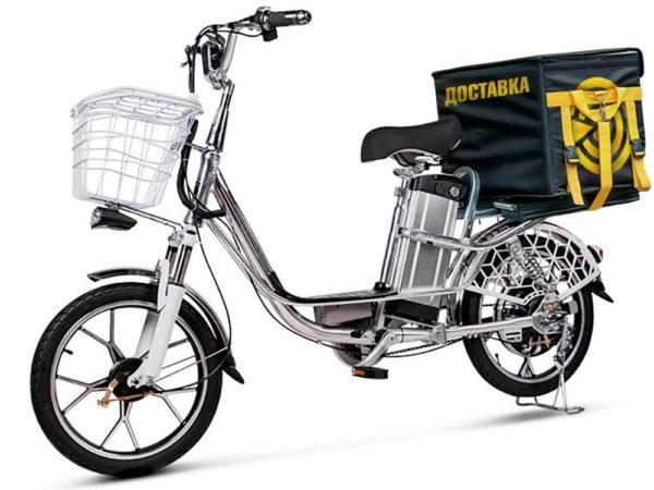 Электровелосипед - Электровелосипед Delivery Line V8 (8,8Ah 48V 350W, 18 дюймов)