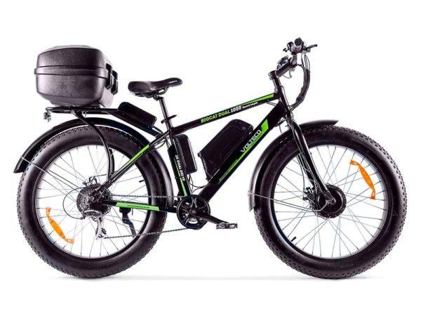 Электровелосипед - Электровелосипед VOLTECO Bigcat Dual 1000 с кофром