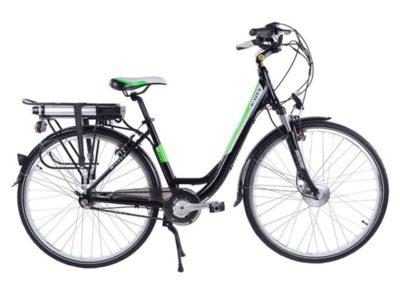 Электровелосипед - Eltreco Totem Black Aqua E-City