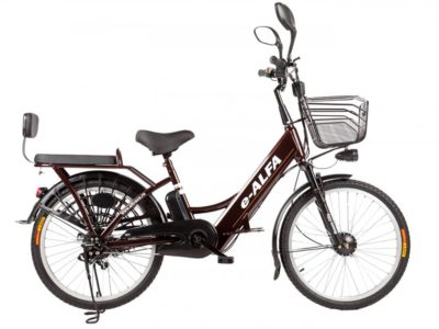 Электровелосипед - Eltreco e-ALFA