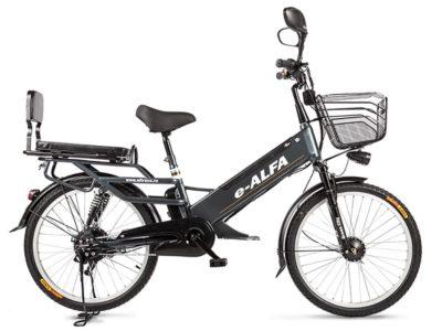 Электровелосипед - Eltreco e-ALFA GL