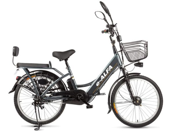 Электровелосипед - Green City e-ALFA