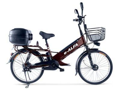 Электровелосипед - Green City e-ALFA GL с кофром