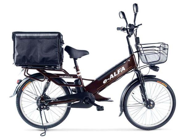 Электровелосипед - Green City e-ALFA GL с термобоксом