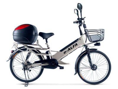 Электровелосипед - Green City e-ALFA L с кофром