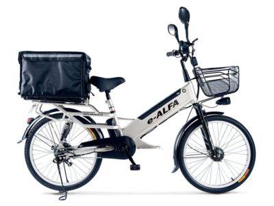 Электровелосипед - Green City e-ALFA L с термобоксом