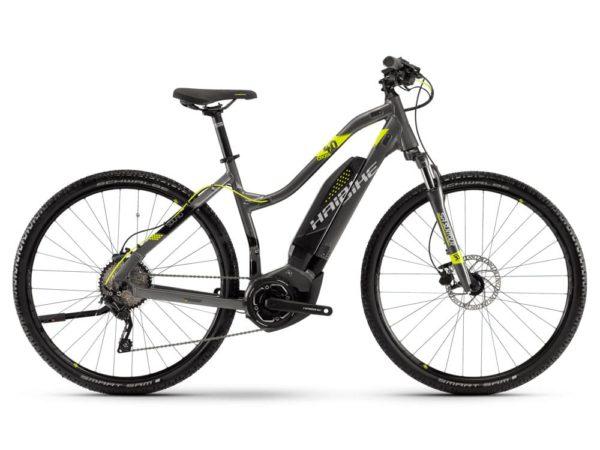 Электровелосипед - Haibike (2018) SDURO Cross 4.0 women 400Wh 10s Deore