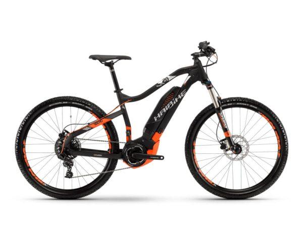 Электровелосипед - Haibike (2018) SDURO HardSeven 2.0 400Wh 11s NX