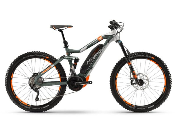 Электровелосипед - Haibike (2018) XDURO AllMtn 8.0 500Wh 20s XT