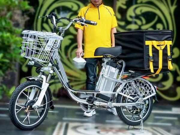 Электровелосипед деливери лайн в8 (8,8ах 48в 350w, 18 дюймов)