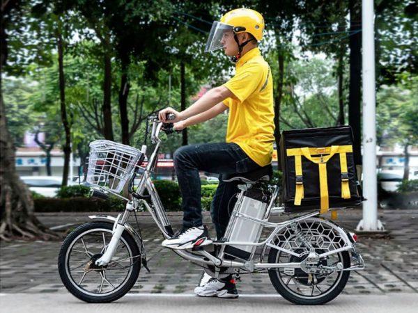 Электровелосипед delivery line v12 (12ah 48v 350w, 20 дюймов)