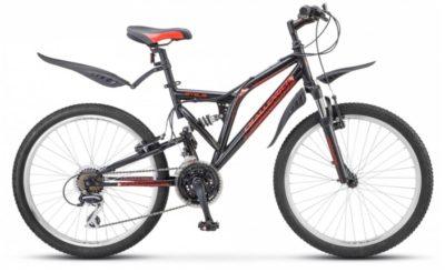 Купить Stels Challenger 24 V Z010 ЧёрныйКрасный (LU084627)