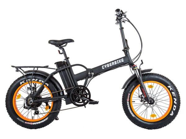 Купить электро фэтбайк cyberbike fat 500w