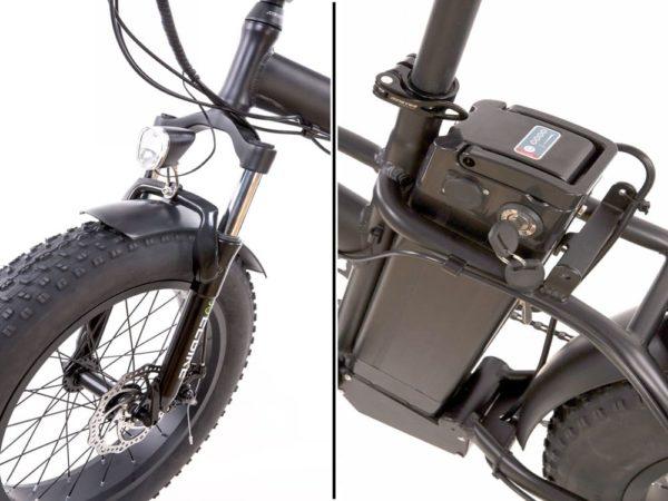 Купить электрофэтбайк elbike taiga 2 с багажником