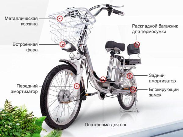 Цена delivery line v8 (8,8ah 48v 350w, 18 дюймов)
