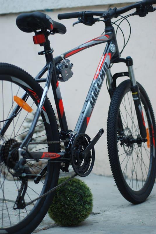Велосипед 26 десна 2650 мд в010 серыйкрасный (лу093367)