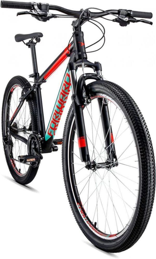 Велосипед 27.5 Forward Apache 1.0 ЧерныйКрасный матовый 18-19 г.1200x1000w