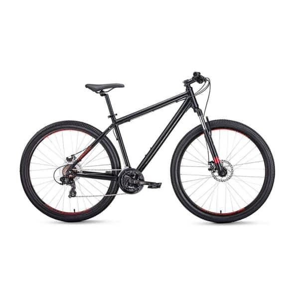 Велосипед 27,5 Forward Apache 27,5 2.0 disc AL Черный Матовый 19-20 г