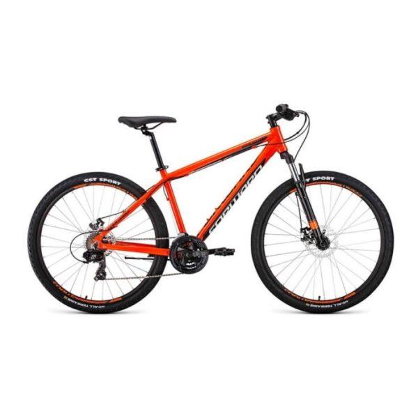 Велосипед 27,5 Forward Apache 27,5 2.0 disc AL ОранжевыйЧерный 19-20 г