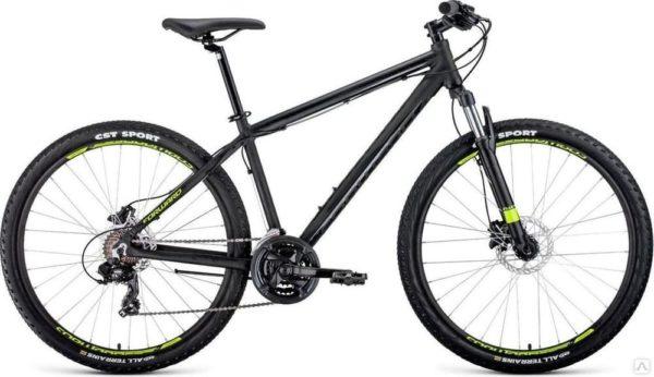 Велосипед 27,5 Forward Apache 27,5 3.0 disc AL Черный Матовый 19-20 г