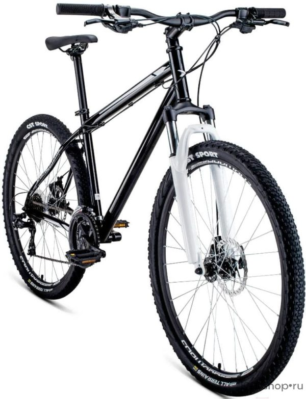 Велосипед 27,5 Forward Sporting 27,5 2.0 disc СерыйЧерный 19-20 г