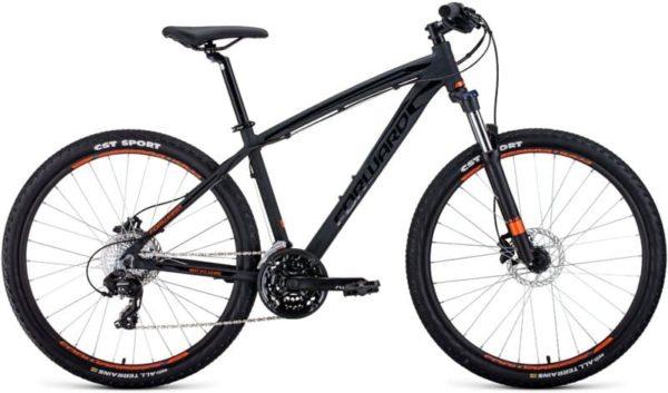 Велосипед 27,5 форвард апаче 27,5 2.0 дисц ал черный матовый 19-20 г
