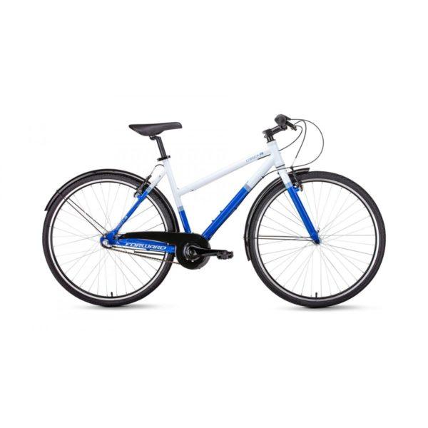 Велосипед 28 Forward Corsica 28 БелыйСиний 3 ск 18-19 г