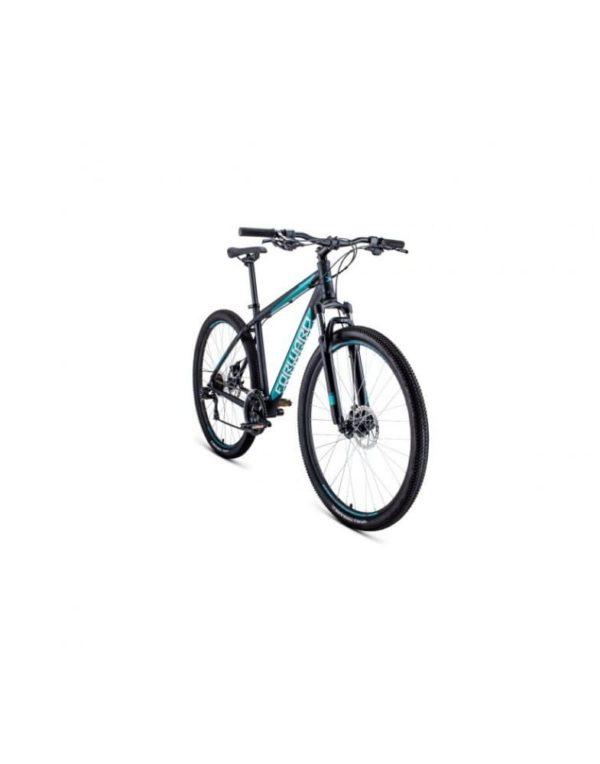 Велосипед 29 Forward Apache 29 2.0 disc AL ЧерныйБирюзовый 19-20 г