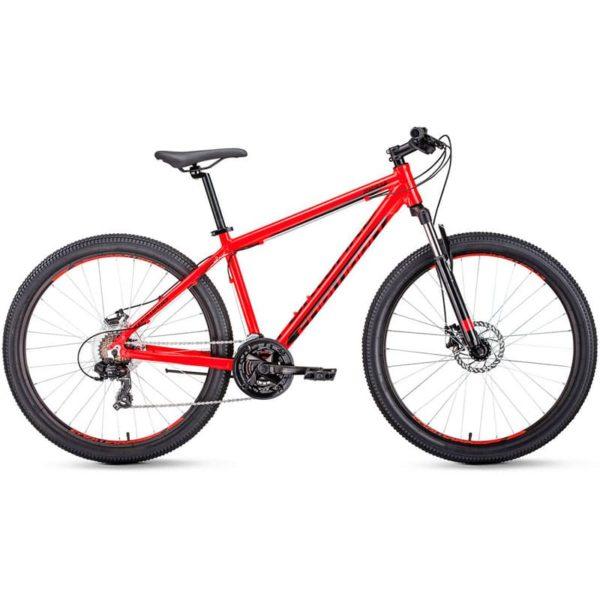 Велосипед 29 Forward Apache 29 2.0 disc AL КрасныйЧерный 19-20 г