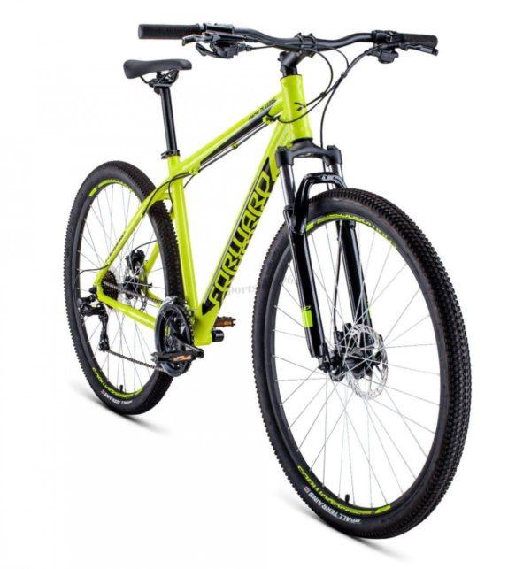 Велосипед 29 Forward Apache 29 3.0 disc AL ЖелтыйЧерный 19-20 г
