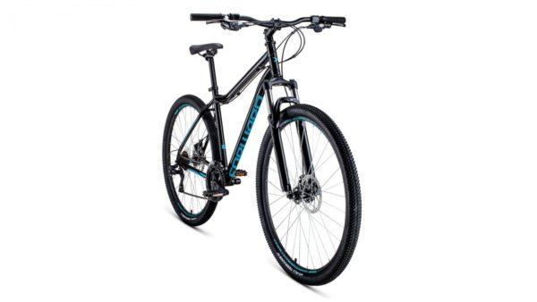Велосипед 29 Forward Sporting 29 2.0 disc ЧерныйБирюзовый 19-20 г