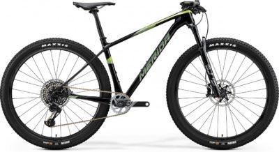 Велосипед Merida Big.Nine 8000 UDTransparentGreenGreen 2020