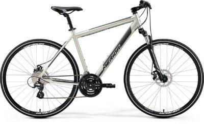 Велосипед Merida Crossway 600 MattTitanGlossyBlackGrey 2020.1800x1200w
